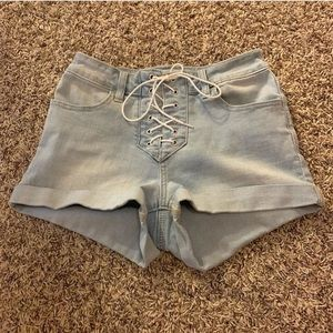 PacSun Shorts - pacsun lace up shorts